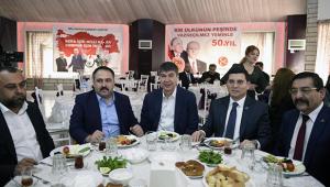 Başkan Tütüncü ittifak ortaklarıyla