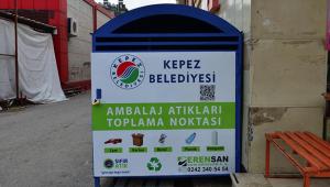 Kepez Belediyesi'nden geri dönüşüme destek