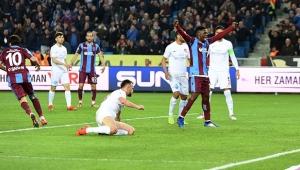 Antalyaspor Trabzon'da kayıp