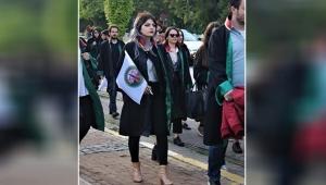 Avukatlardan 'sessiz yürüyüş'