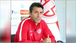 Bülent Korkmaz Antalyaspor'un ligde bulunduğu konumu böyle değerlendirdi: Güvenilir noktadayız