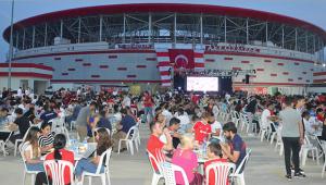 Antalyaspor camiası iftarda buluştu
