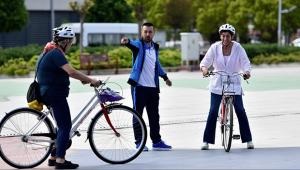 Belediyeden bisiklet eğitimi