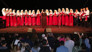 Bereginya Korosu'ndan ilahi konseri