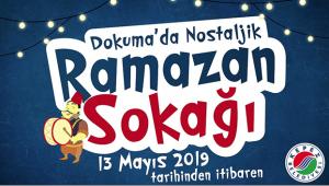 'Ramazan Sokağı' açılacak
