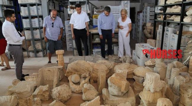 Antik kent ziyareti