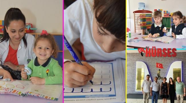 Antalya'da aileler ile iç içe, sıcak bir okul