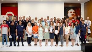 Antalya OSB'de itfaiyecilere eğitim