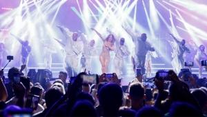 Jennifer Lopez, Antalya'da fırtına gibi esti