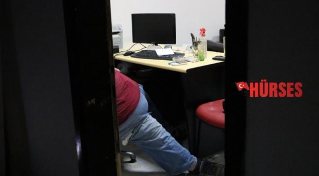 Ofiste ölü bulundu