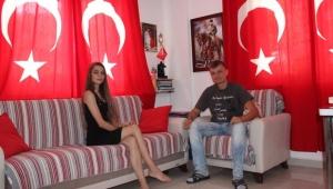 Ukraynalı ailenin Türkiye sevgisi