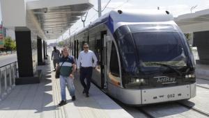 Varsak-Otogar hattı açıldı