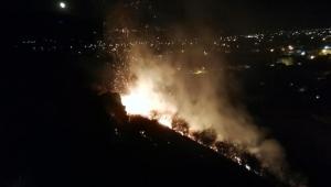 Xanthos Antik Kenti yakınında yangın