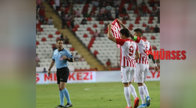 Antalyaspor yine berabere