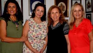 Bursalı kadın sanatçılar Antalya'da