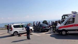 Finike'de kaza: 1 yaralı