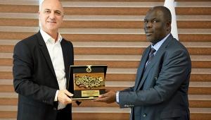 Uganda heyeti Antalya OSB'de