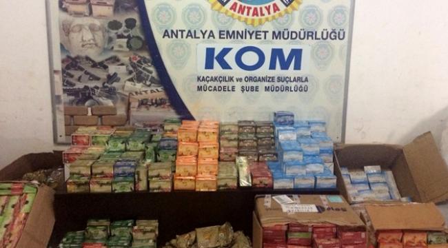 Antalya'da Duman-8 operasyonu