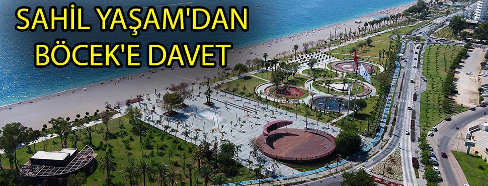 SAHİL YAŞAM'DAN BÖCEK'E DAVET