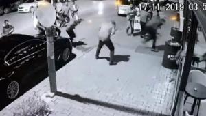 Silahlı çatışma kamerada