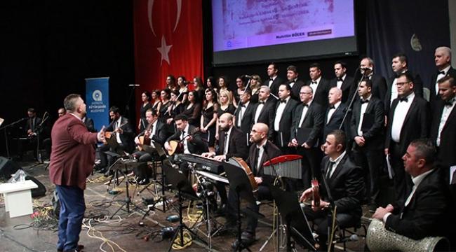Türkü Türkü Türkiye'm konserinde müzik şöleni