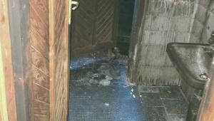 Alanya'da 2 katlı müstakil ev küle döndü