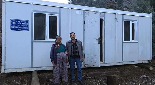 İhtiyaç sahiplere konteyner ev