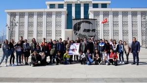 Başkan Genç, Avrupalı öğrencileri ağırladı