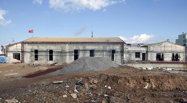 Kepez Cemevi inşaatında sona gelindi