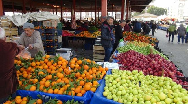 Meyve ve sebze hırsızı yakalandı