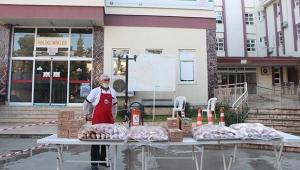 Çokal'dan sağlık çalışanlarına kahvaltı ikramı