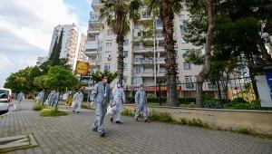 Muratpaşa'da maske dağıtımı sürüyo