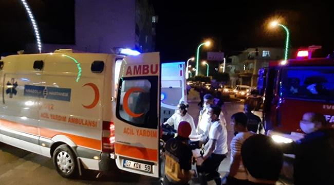 Kamyonetle midibüs çarpıştı: 2 yaralı