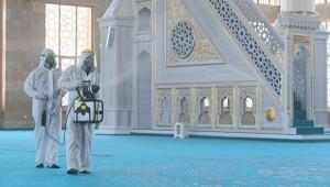 Konyaaltı'nda 'cuma namazı' hazırlıkları tamamlandı