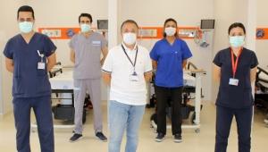 Covidli hastalar için 'Turuncu' alan