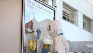 Antalya Havalimanında 9 bin test yapıldı