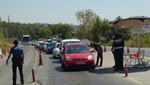 Antalya-Konya karayolunda tatilci yoğunluğu