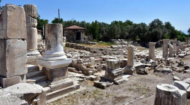 Antik kentte 1720 yıllık fiyat listesi