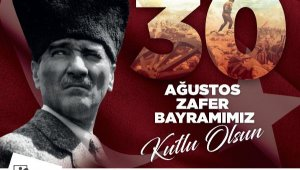 Başkan Sözen'den Zafer Bayramı mesajı