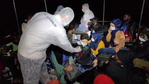 Bodrum açıklarında 21 kaçak göçmen kurtarıldı