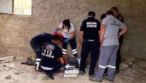 İncir toplamak isterken çatıdan düştü