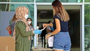 Antalya'da öğretmen adaylarının KPSS heyecanı