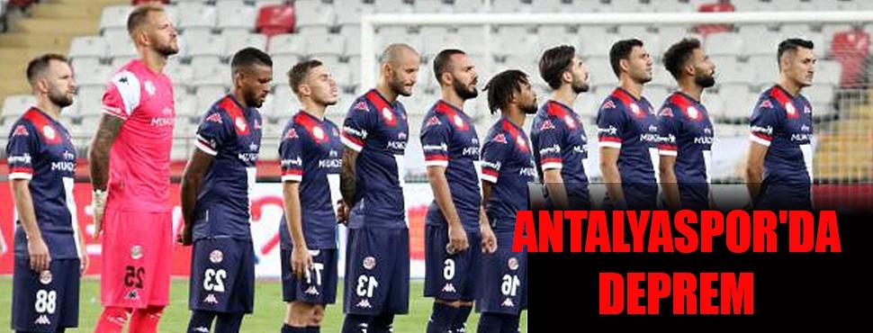 Antalyaspor'da deprem
