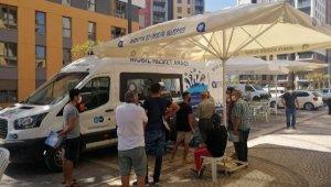 ASAT mobil hizmet aracı Kepez Santral'de