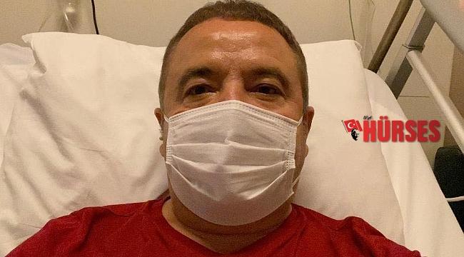 Başkan Böcek'in sağlık durumunda düzelme sürüyor