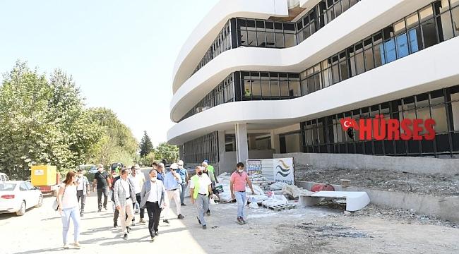 BATEM'in yeni hizmet binasında son aşamaya gelindi