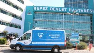 Büyükşehirden sağlık çalışanlarına aşure ikramı