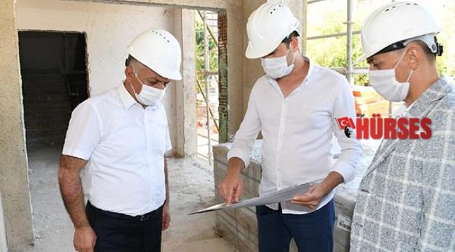 Huzurevi inşaatında inceleme