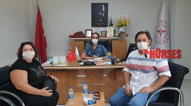 KETAV'dan sağlık çalışanlarına teşekkür ziyareti