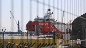 'Oruç Reis', yeniden Antalya Limanı'nda
